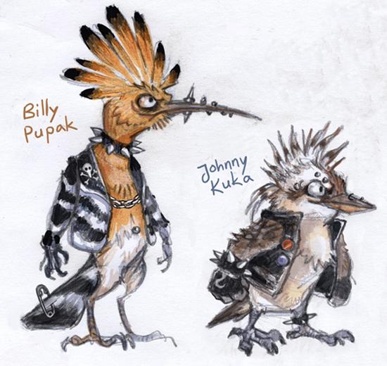 Punk birds
