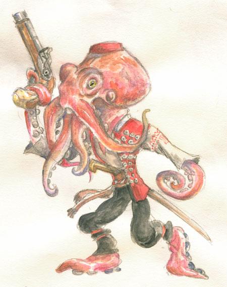 Uskok octopus