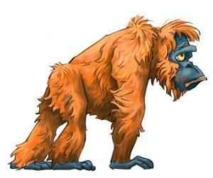 portfolio_Orangutan female1