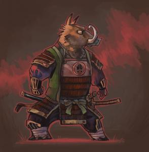 portfolio_Samurai boar