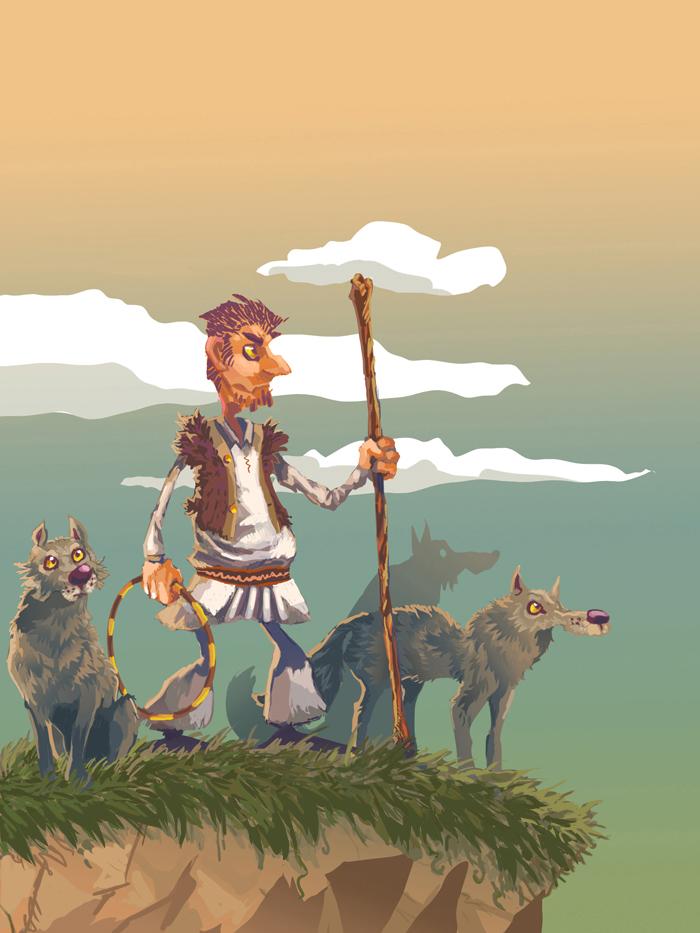 portfolio_Wolf shepherd